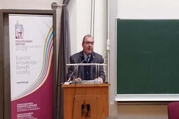 Ο Γενικός Διευθυντής της ΟΑΚ  Κεντρικός Ομιλητής στην εκδήλωση του Πολυτεχνείου Κρήτης  για τους Τρεις Ιεράρχες
