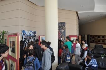 Μαθητές παρακολουθούν Πρόγραμμα για τον Καζαντζάκη