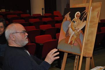 Σεμινάριο Αγιογραφίας με τον κ. Γιώργο Κόρδη  στην Ορθόδοξο Ακαδημία Κρήτης