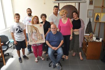 Σεμινάριο Αγιογραφίας με τον καταξιωμένο αγιογράφο –ζωγράφο   κ. Γιώργο Κόρδη στην ΟΑΚ