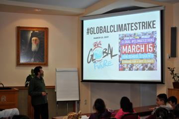 Η ΟΑΚ συμμετέχει στην παγκόσμια ημέρα δράσης για την κλιματική αλλαγή και εκπέμπει μήνυμα για την προστασία του περιβάλλοντος