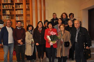 Η συγγραφέας Ζοέλ Λοπινό στη Λέσχη Φιλαναγνωσίας της ΟΑΚ