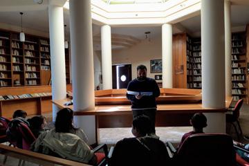 Μαθαίνοντας για τις περιπέτειες του Θεόδωρου Κολοκοτρώνη «Σάββατο στη Βιβλιοθήκη της ΟΑΚ»