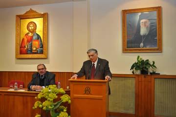 Εορτή των Τριών Ιεραρχών στην Ορθόδοξο Ακαδημία Κρήτης