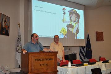 Πρόγραμμα Ρομποτικής για παιδιά στην  Ορθόδοξο Ακαδημία Κρήτης (ΟΑΚ)