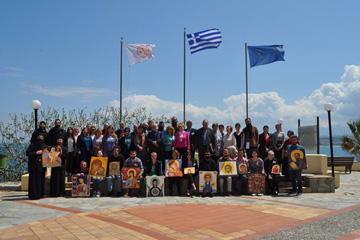 Κορυφαίοι Αγιογράφοι από όλο τον κόσμο  δωρίζουν τα έργα τους στην ΟΑΚ