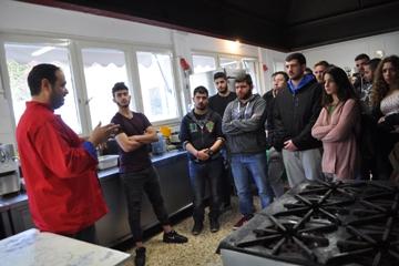 Επίσκεψη Σπουδαστών της Μαγειρικής Τέχνης  ΕΠΑ.Σ ΟΑΕΔ Ταυρωνίτη στην ΟΑΚ